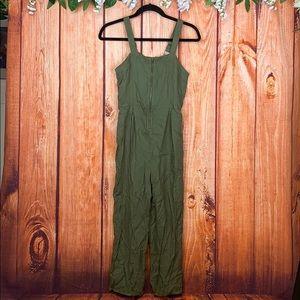 Art Class Army Green Girls Jumpsuit 1199CH3
